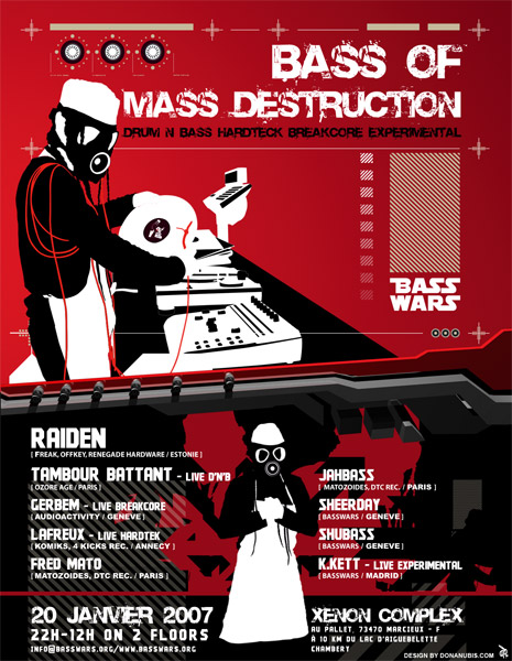 Bass Wars Bass of Mass Destruction
