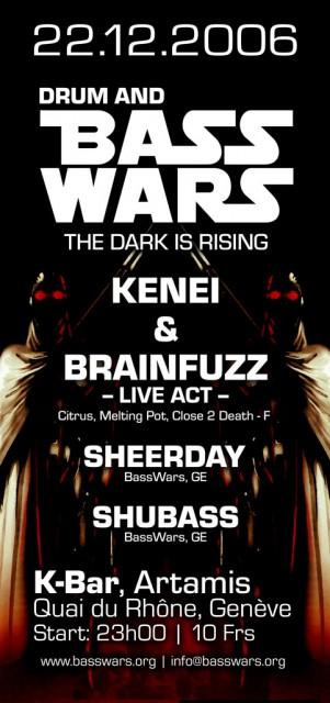Bass Wars The Dark Is Rising