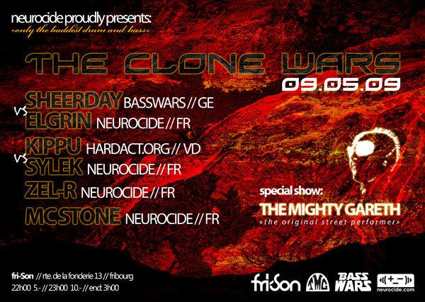 The Clone Wars Neurocide - BassWars