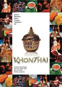 Khon Thaï Festival Lausanne - Flyer