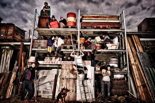 Electro Circus photo de l'équipe oganisatrice