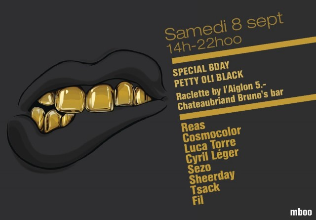 Special Bday Oli Petty Black - Pl. Chateaubriand