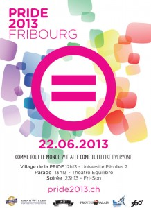 Pride 2013 Fribourg - LGBT