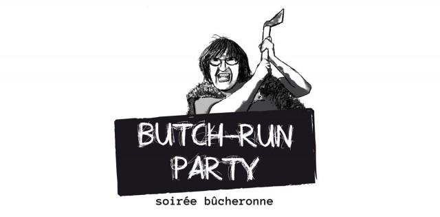 Butch-Run Logo
