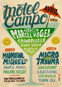 Motel Campo - Avril 2014